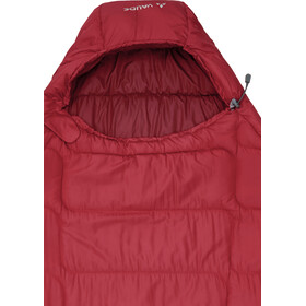 VAUDE Sioux 400 S Syn Sleeping Bag dark indian red